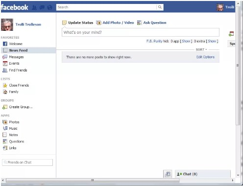 how to delete all posts on facebook page