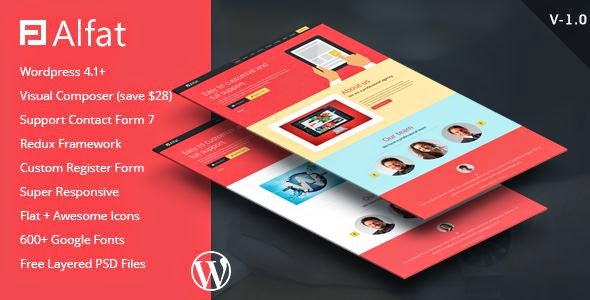 Best Landing Page WordPress Theme 2015