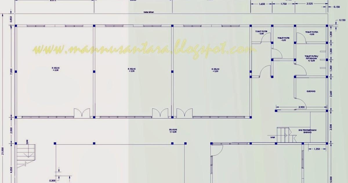 ManNusantara Design Indonesia: Desain bangunan Sekolah ...