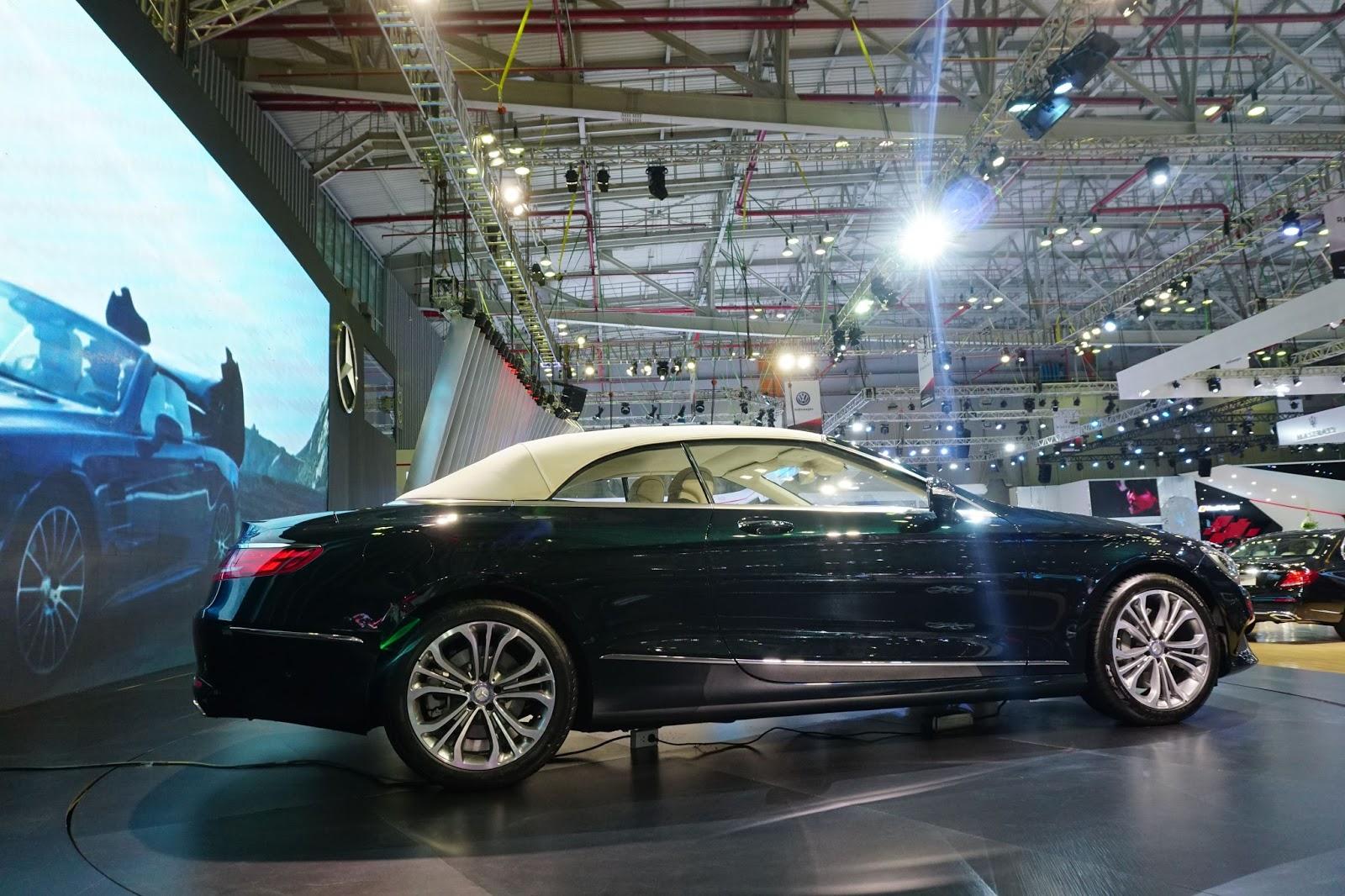 S500 Cabriolet 2017 là chiếc xe đắt giá nhất của Mercedes Benz tại VIMS 2016