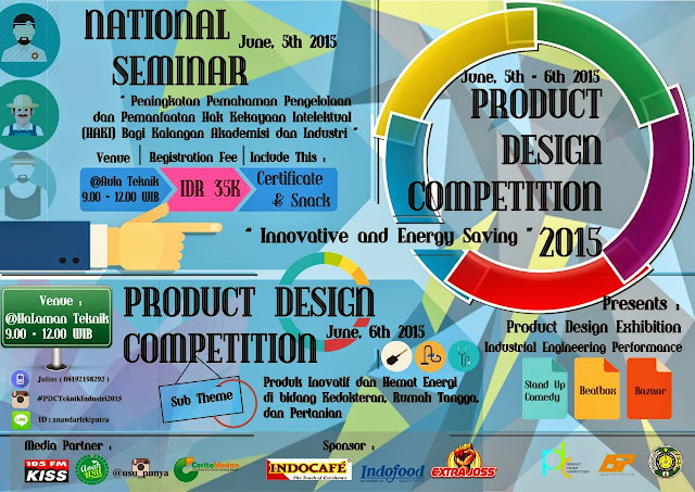 Teknik Industri USU Gelar Product Design Competition 2015