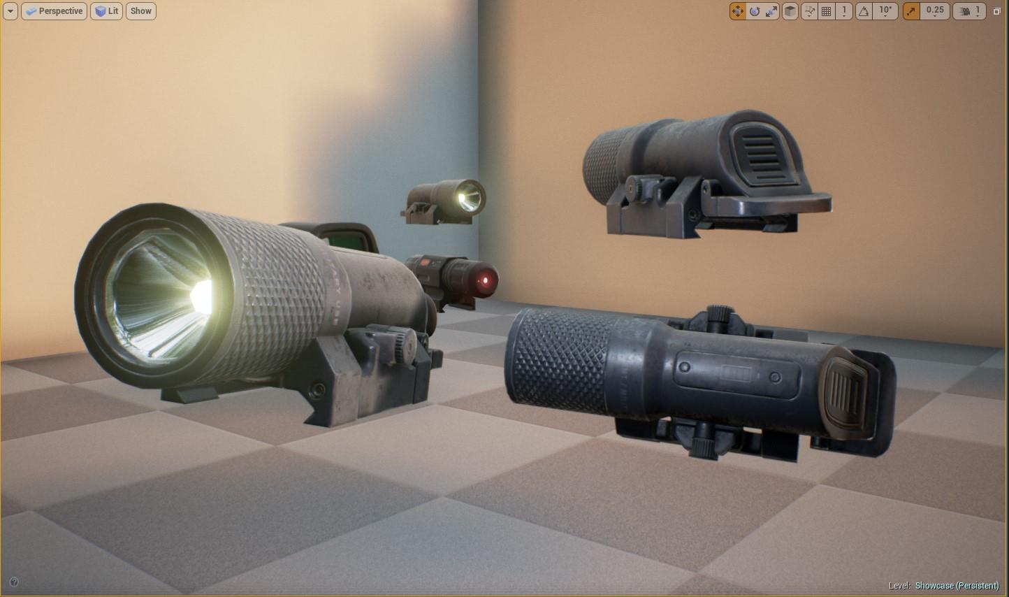 Unreal Engine Weapon Assets WIP | Max Klaymen 3d Models