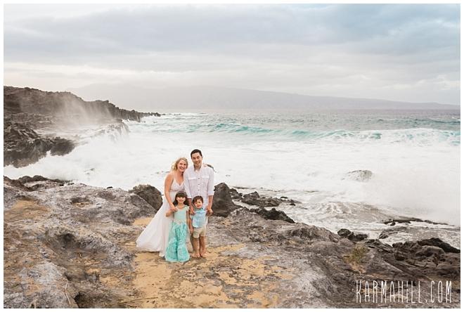 Maui Family Beach Portraits