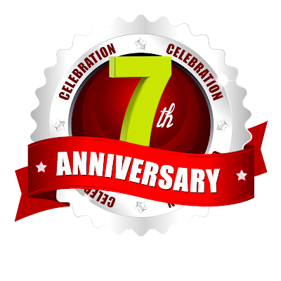 7th-anniversary-logo-template-in-the-Round-label-ping-logo-naveengfx.com