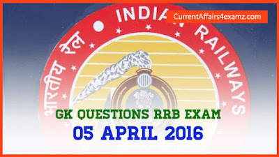 Railway Exam 2016 Questions