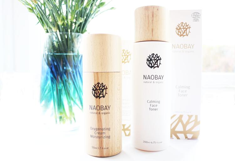 NAOBAY Calming Face Toner & Oxygenating Cream Moisturiser