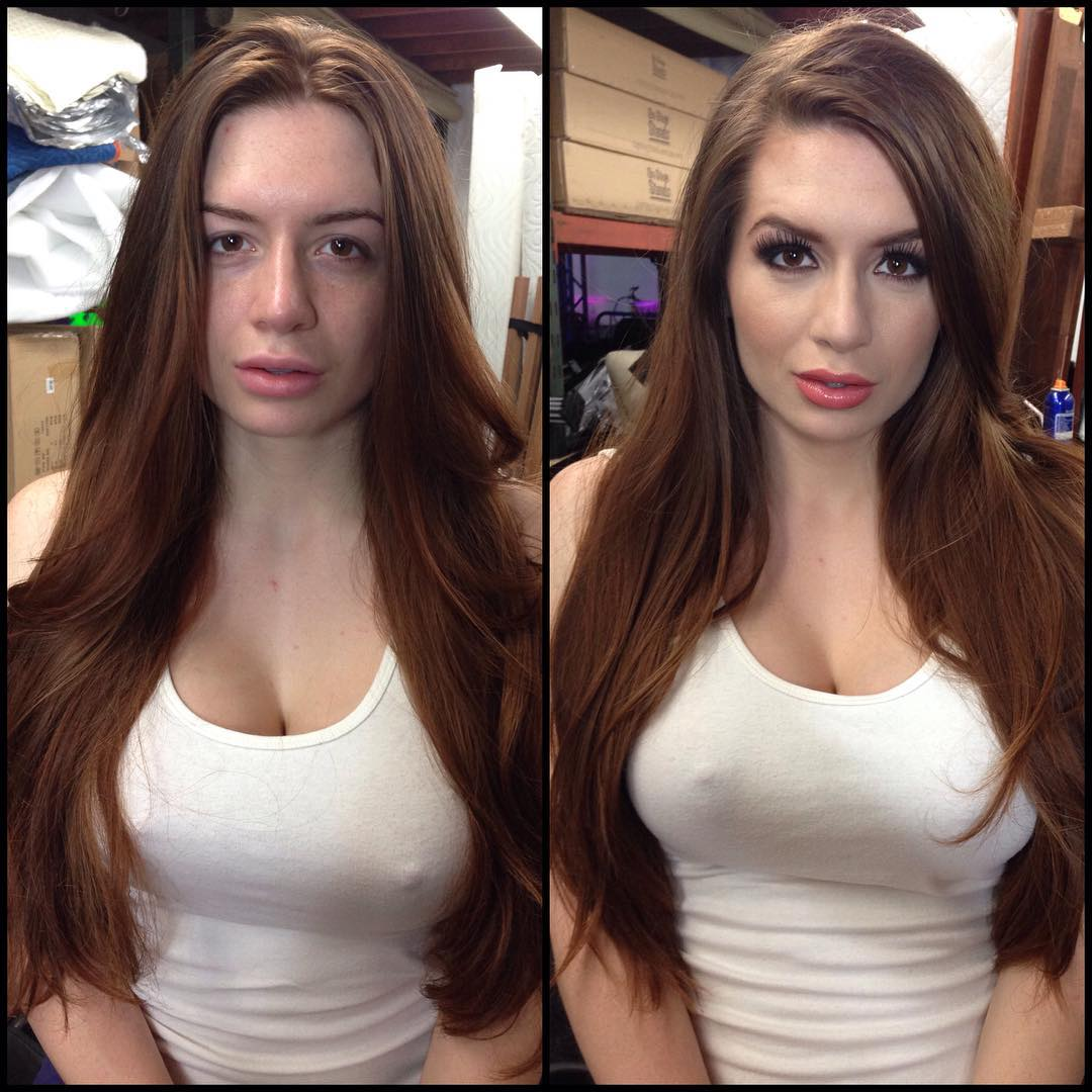 this is what stars look like before and after make-up - epicalyptic