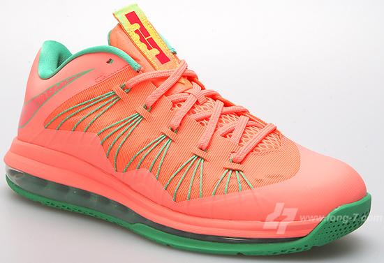 2015 New Arrive Nike Air Max Lebron X Low University Red Metalli