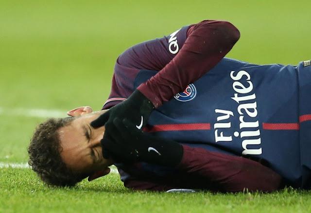 نيمار يتعرض لإصابة خطيرة ويغيب عن موقعة ريال مدريد