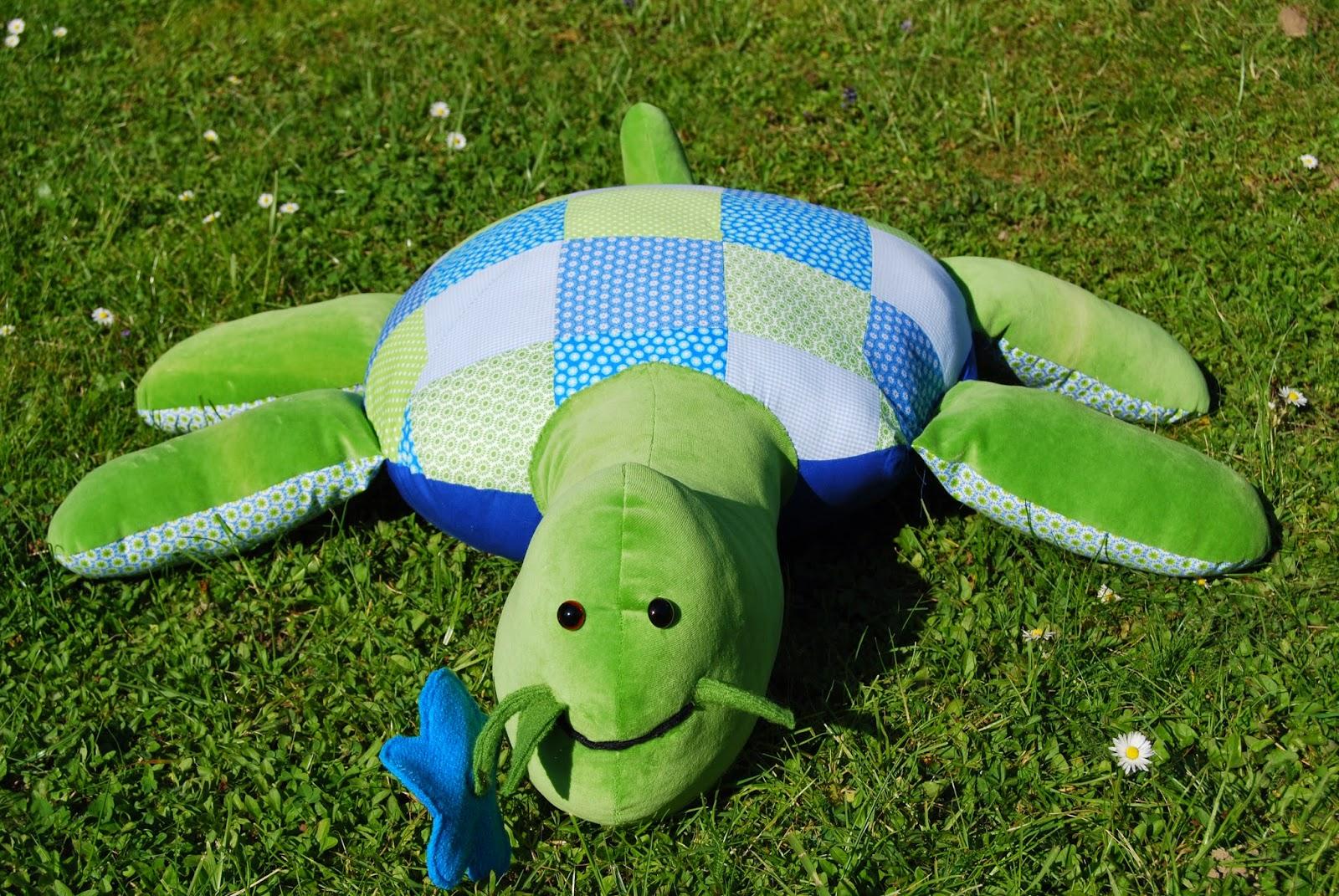 pusteblume eine schildkröte