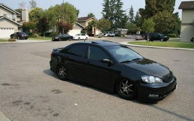 Toyota Corolla Altis Black
