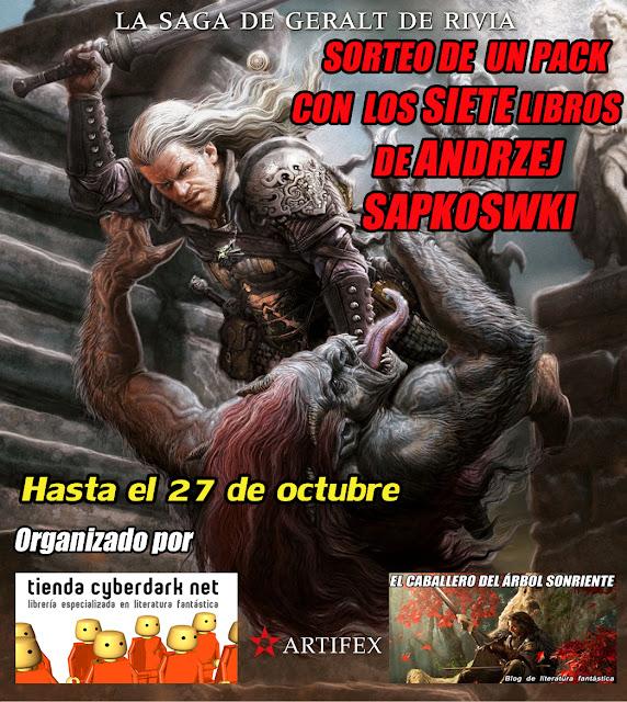 SORTEO de la saga completa de Geralt de Rivia