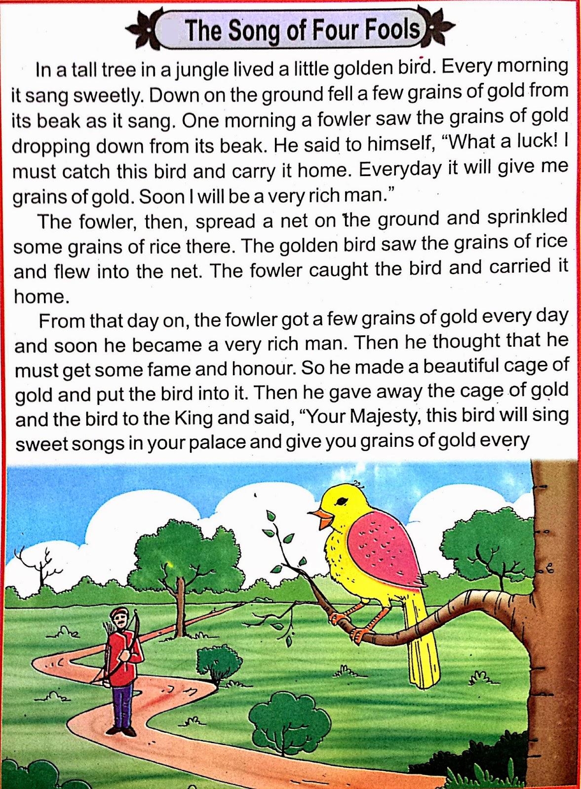 ONLINE HINDI ENGLISH AND PUNJABI COMICS: The Song of Four ...