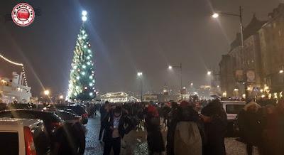 Fin de año en Estocolmo, Suecia