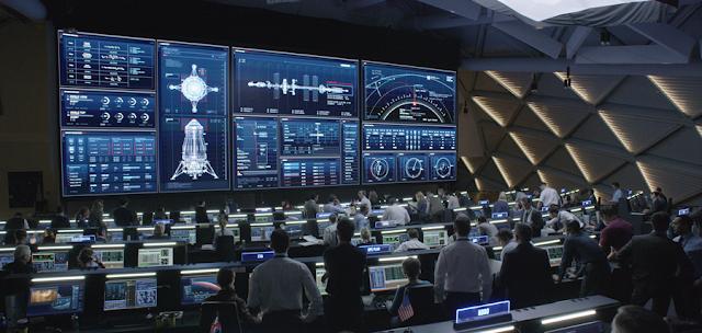 Centrul de comandă NASA pentru misiunea Ares