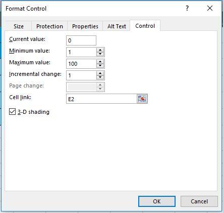 Cara Membuat Tombol Spin Dengan Vlookup Pada Excel