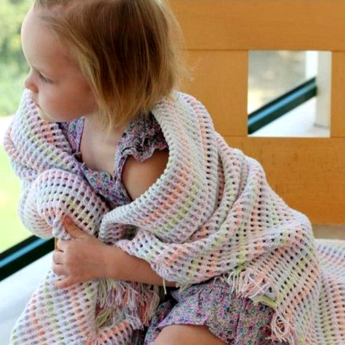 Simple Beautiful Crochet Baby Blanket - Free Pattern