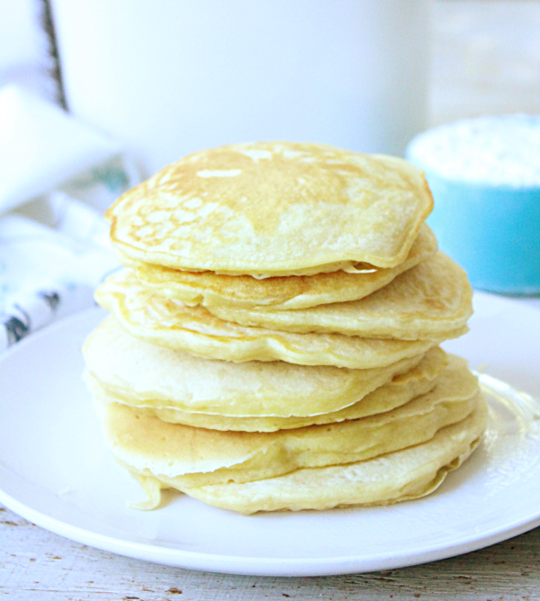 Homemade Pancake Ready Mix: Table for Seven