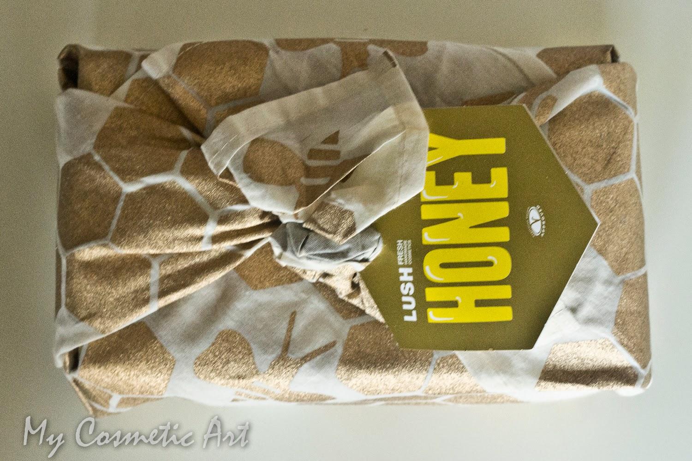 Honey regalo lush furoshiki unboxing