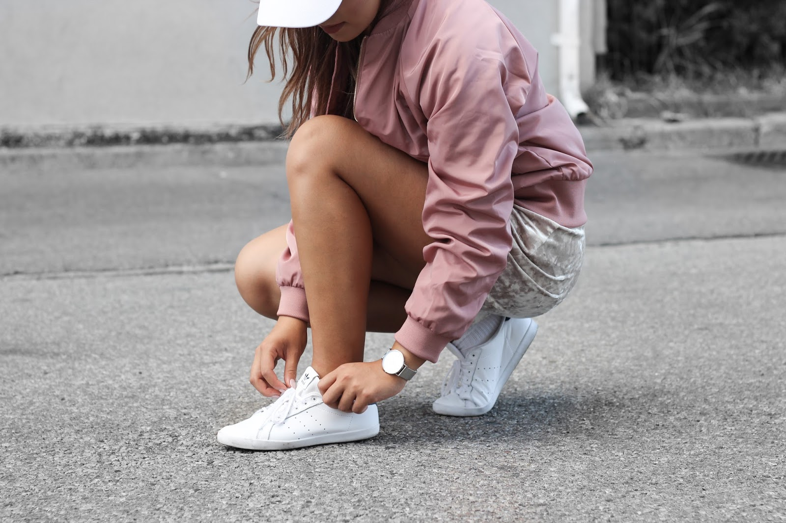 adidas miss stan smith pink