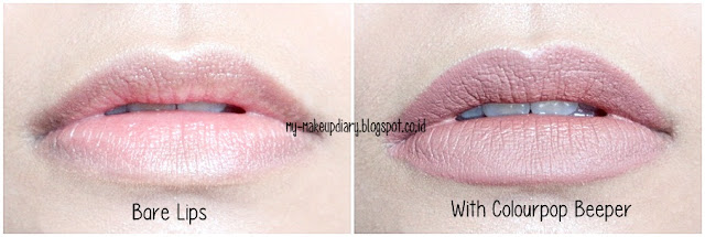 Colourpop Ultra Matte Lip Beeper