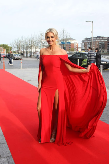 Rosanna Davison – The Peter Mark VIP Style Awards 2016 in Dublin