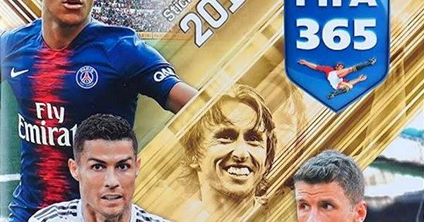 Sticker 346 a//b Panini FIFA365 2019 Gremio Marinho