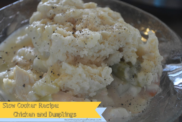 Slow Cooker Recipes: Chicken n Dumplings