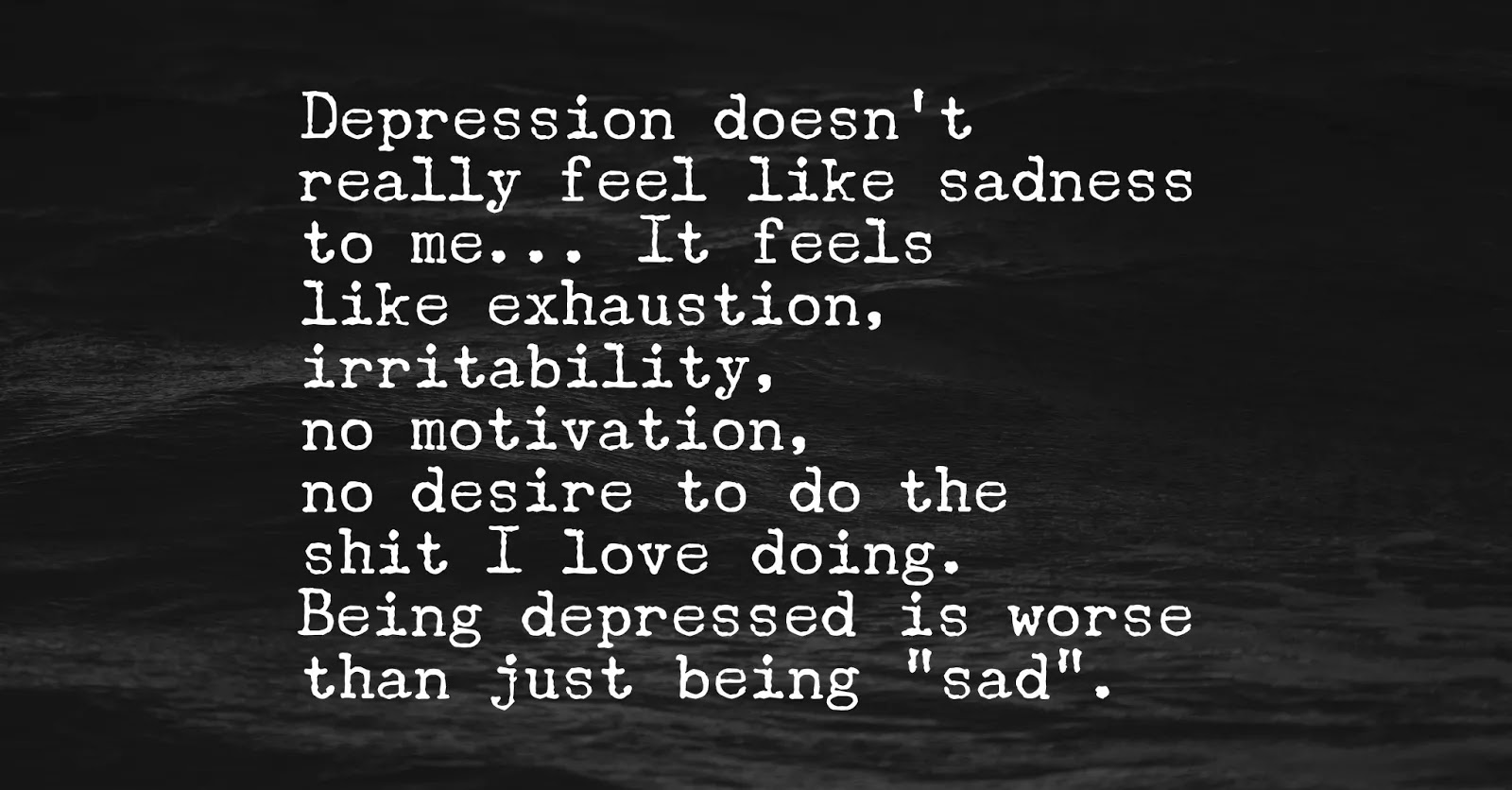 10 Depression Signs You Need To Be Aware Of