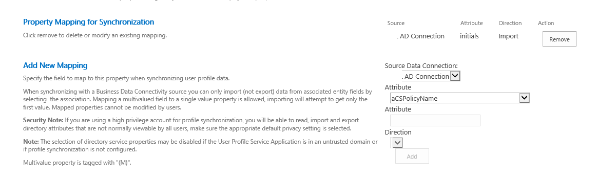 Fixing SharePoint: How to get custom user profile property
