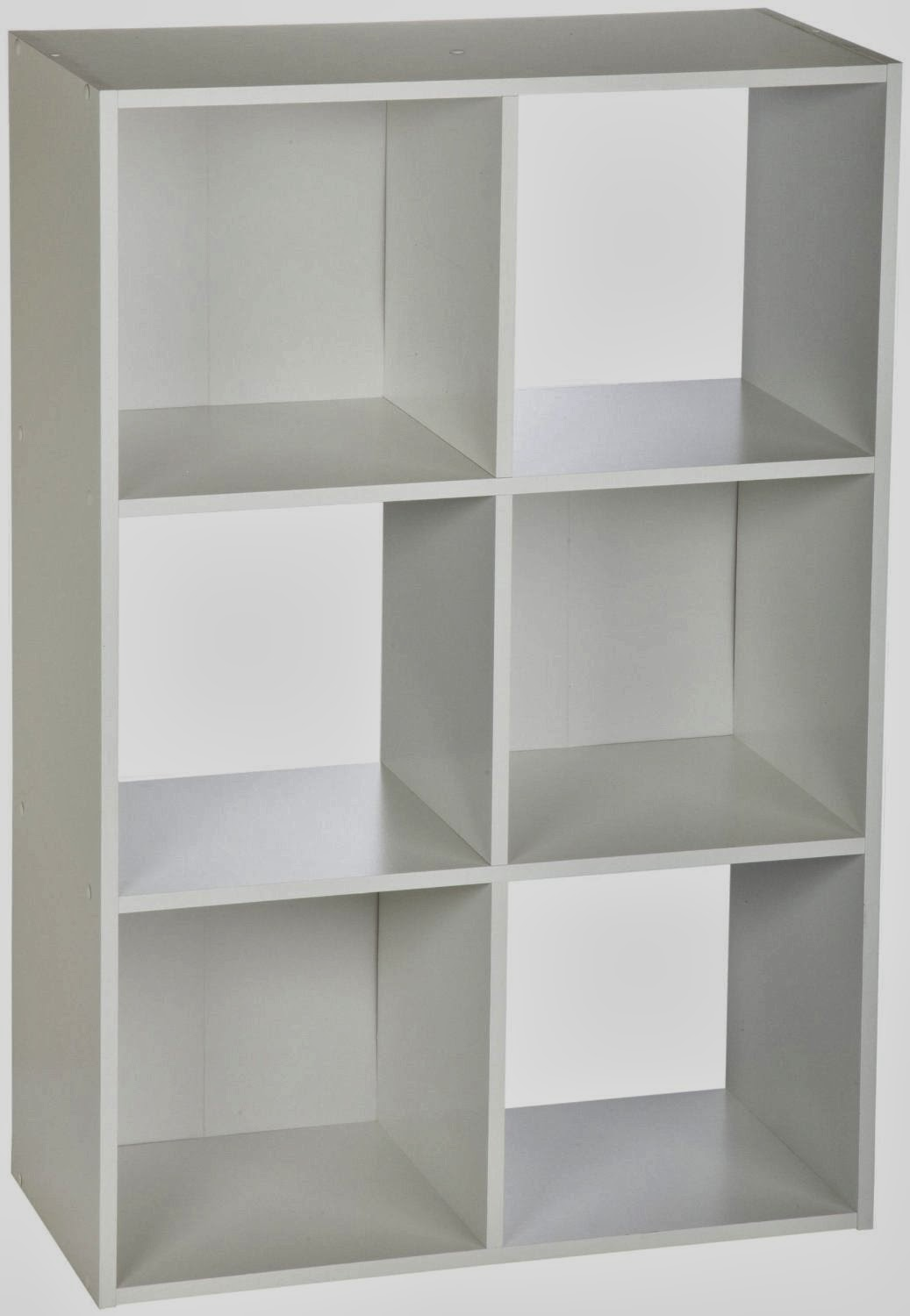 White Closet Maid 6 Cube Stackable Laminate Organizer