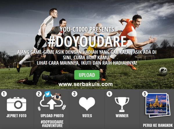 Kontes Foto #DOYOUDARE Berhadiah Liburan ke Bangkok
