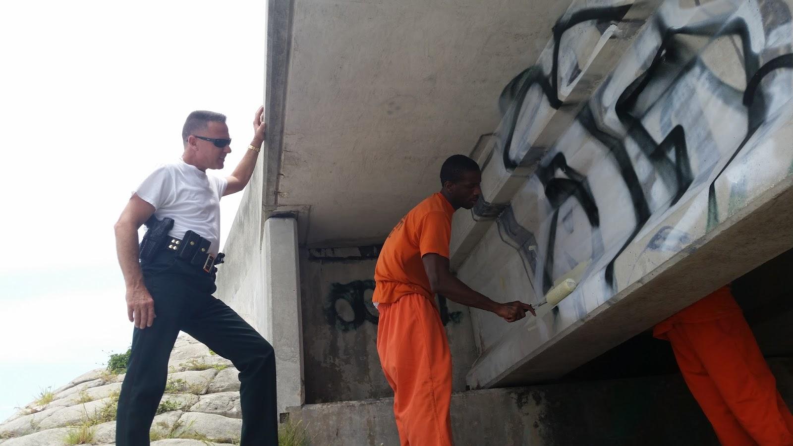Graffiti eradication, Lower Keys | Monroe County Sheriff's