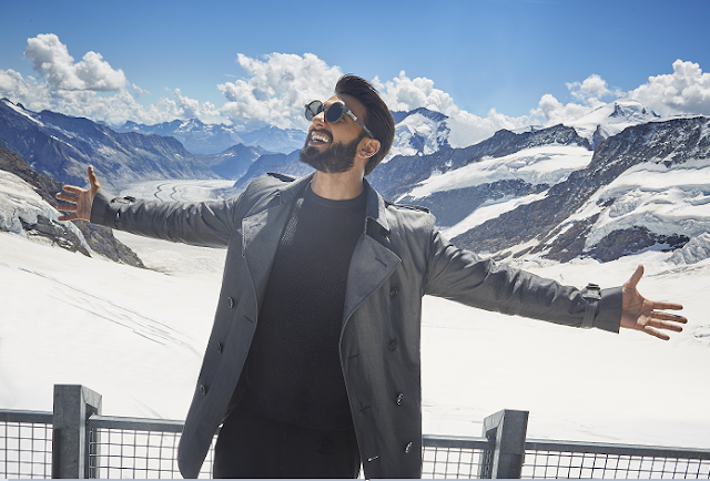 Ranveer Singh - THE ACTOR TAKES ON THE MANTLE OF BRAND AMBASSADOR FOR SWITZERLAND