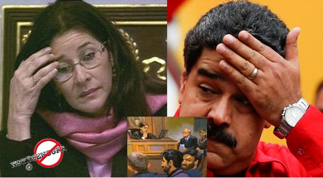 Cilia FLores y Nicolas Maduro
