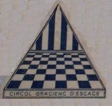 Emblema del Círcol Gracienc d'Escacs