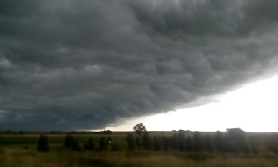 storm front in Nebraska