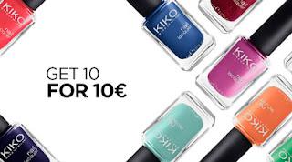 10 smalti a 10 euro