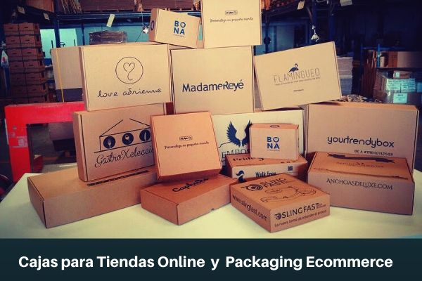 cajas para tiendas online y cajas ecommerce