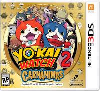 YO-KAI WATCH® 2: Fantasqueletos y YO-KAI WATCH® 2: Carnánimas