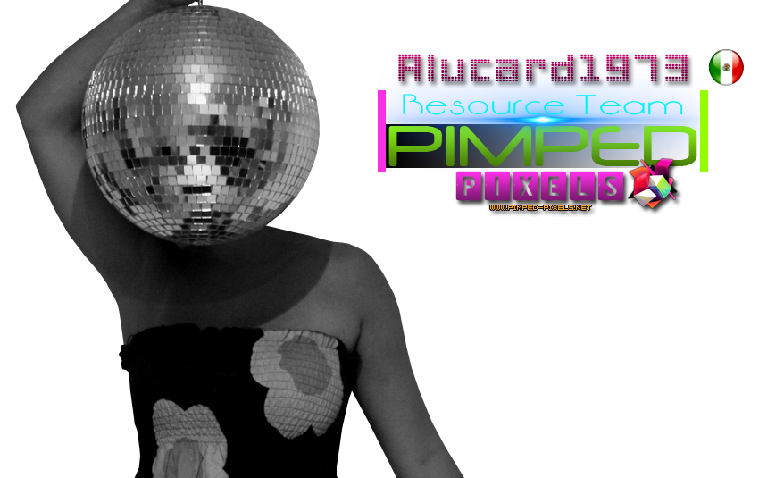 PNG DISCO GIRL
