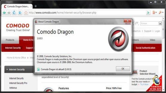 Comodo Browser screenshot 4