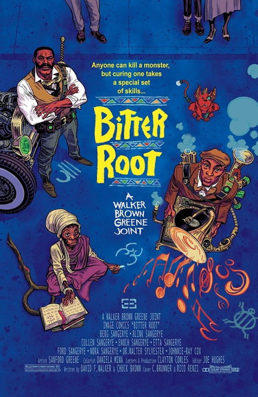 BITTER ROOT In Development for Film and More
