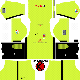 Urawa Red Diamonds kits 2017 - Dream League Soccer