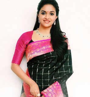 Keerthy Suresh in Black Saree