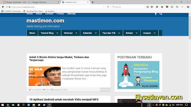 blog mastimon timon adiyoso
