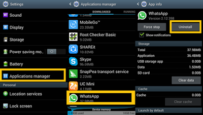 ICT Link-Up-Application-Manager-Whatsapp-Uninstall