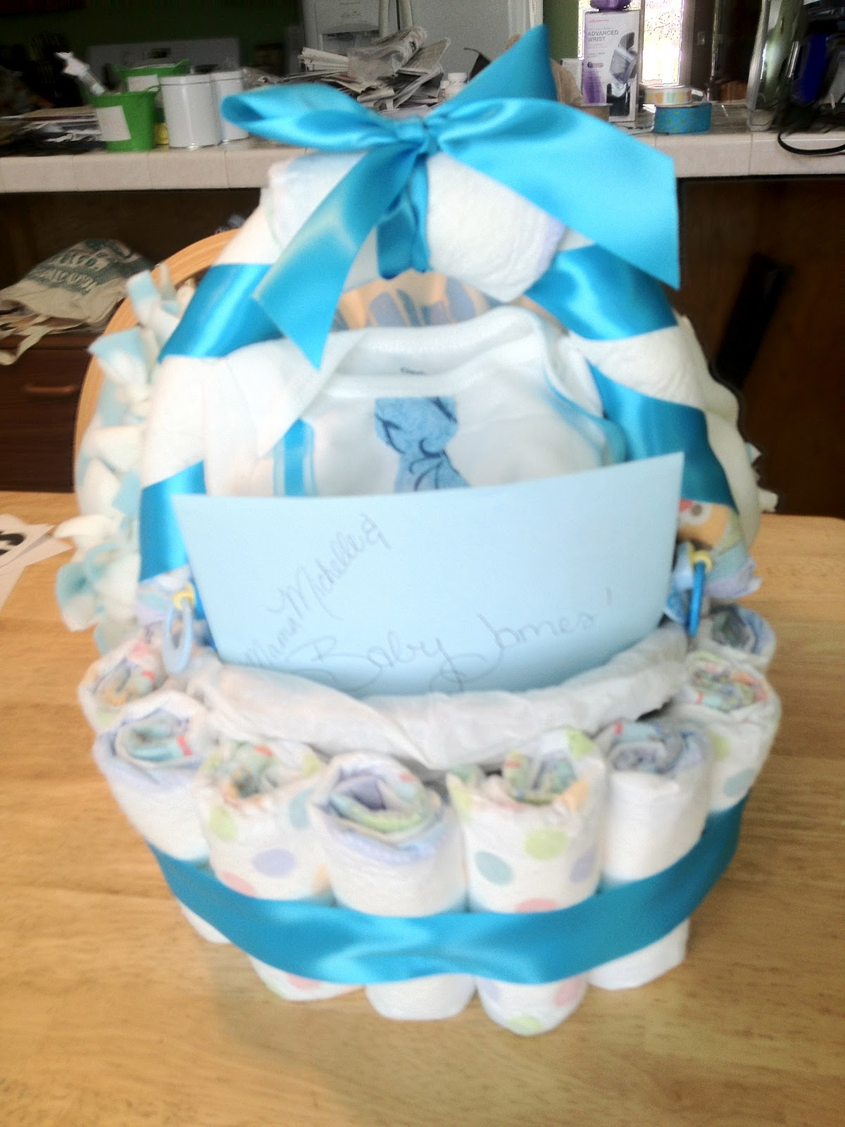 Someday-Baby: Diaper Basket Baby Shower