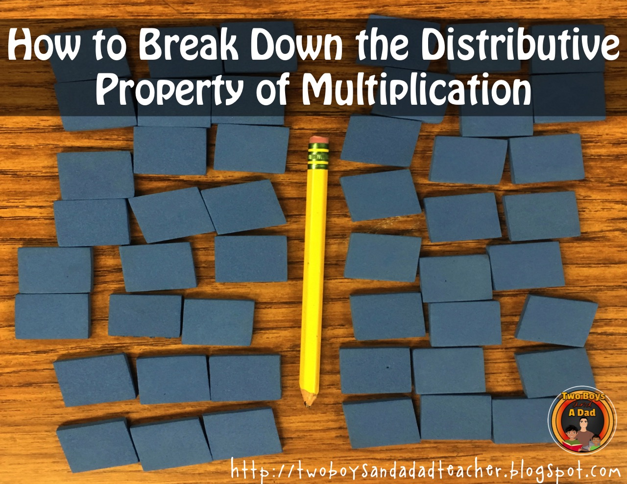 Distributive Property of Multiplication - How To Break It Down - Two ...