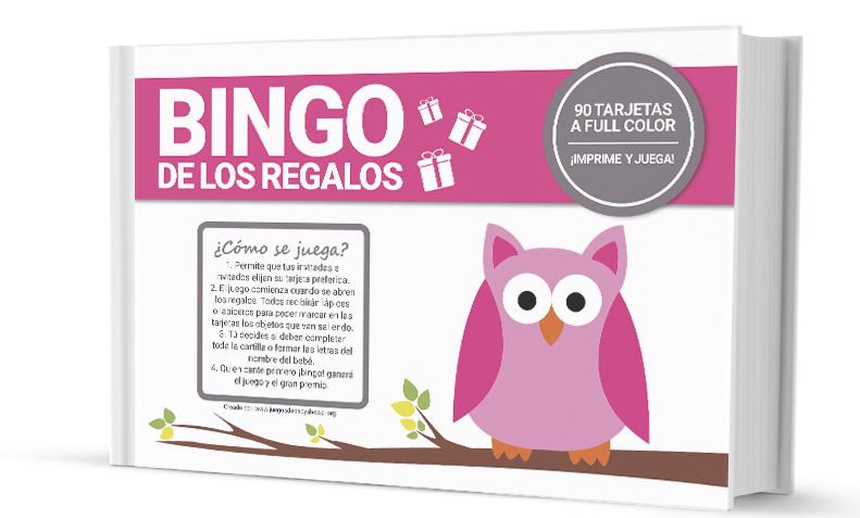 Bingo Para Baby Shower Juegos De Baby Shower